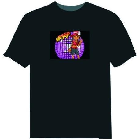 Camiseta Led Hip Hop