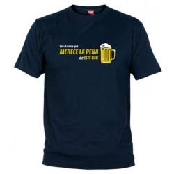 Camiseta Soy el Único que Merece la Pena en este Bar
