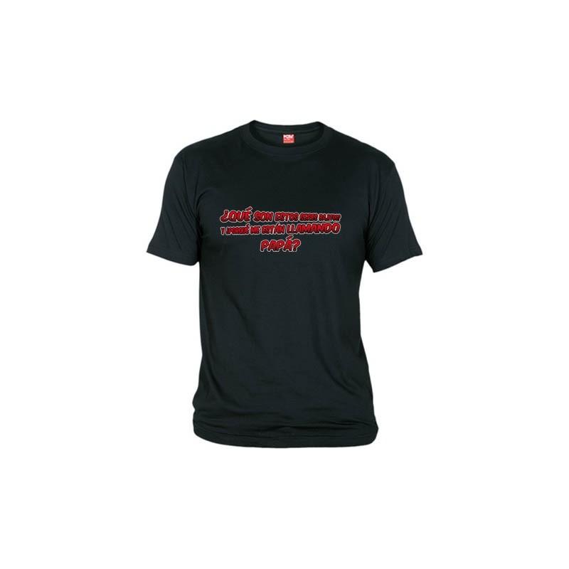 Camiseta, quienes son esos seres bajitos, y porque me están llamando PAPA