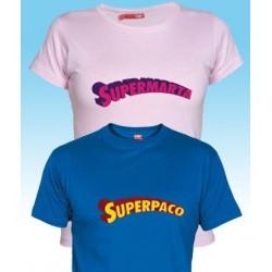 Camiseta Super (Tu Nombre)