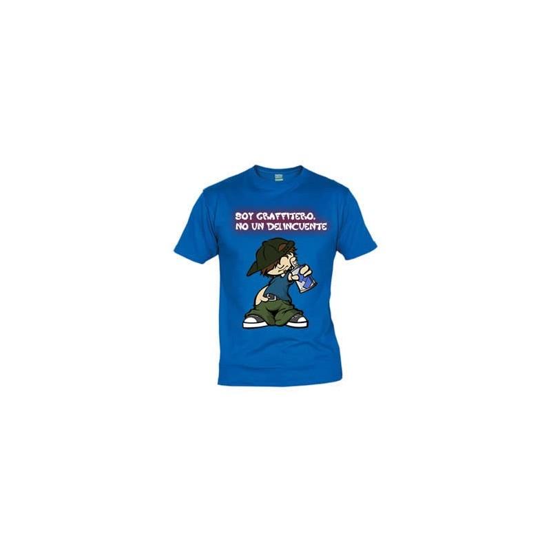 Camiseta Solo Soy Graffitero No un Delincuenta