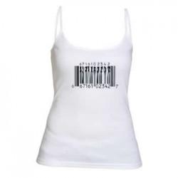 Camiseta Tirantes Chica Codigo de Barras