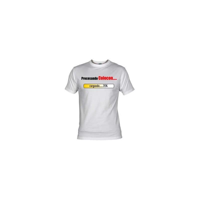 Camiseta Colocon en Proceso