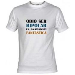 Camiseta-Odio ser Bipolar