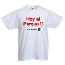 Hoy Al Parque - A mi me mola esto - Camisetas Divertidas y modernas para niños