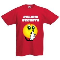 Policia Secreta - Camisetas para niños Divertidas