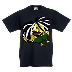 Bob Rasta - Camiseta Divertidas y modernas para Niños