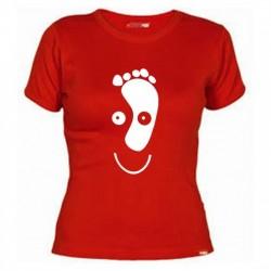 Camiseta Cara Pie