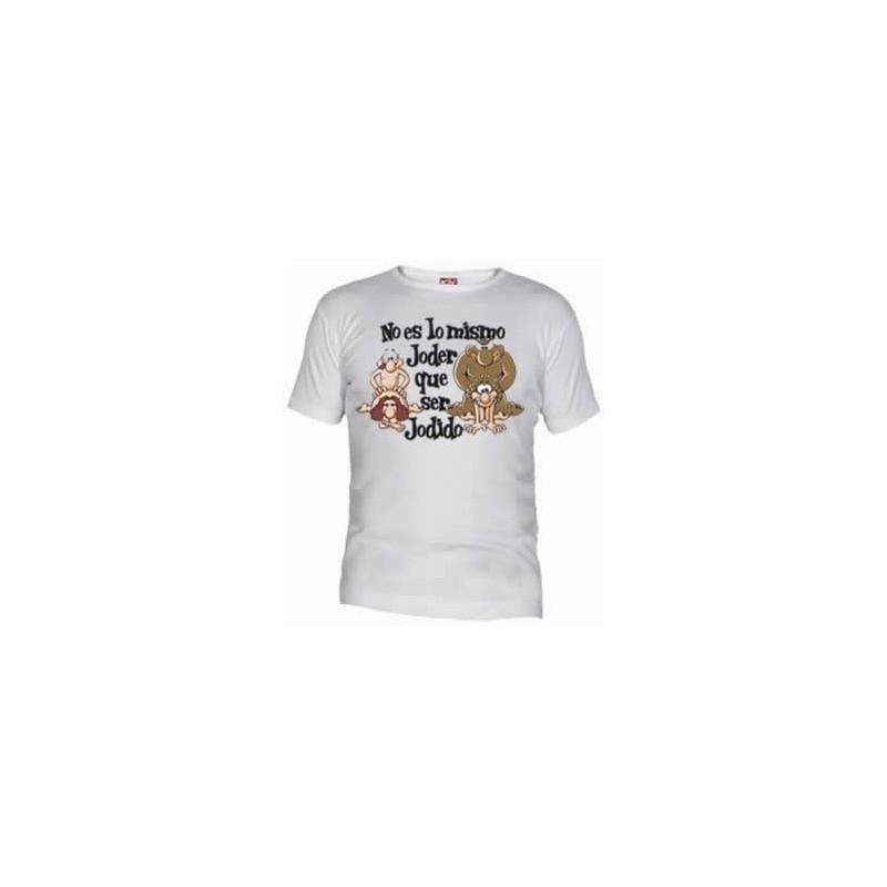 Camiseta No es lo mismo joder, que ser jodido