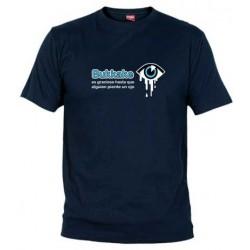Camiseta Los Bukkakes son Graciosos hasta que Alguien pierde un Ojo