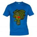 Camiseta Niña Rasta Zombie