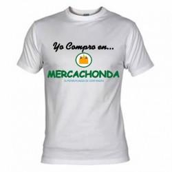 Yo Compro en Mercachonda, Camisetas Divertidas con mensajes