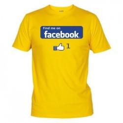 Camiseta Buscame en Facebook