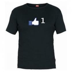 Camiseta Dedo Me gusta Facebook
