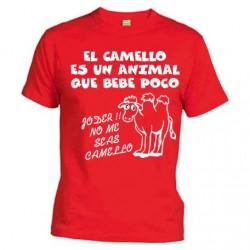 El Camello es un animal que bebe poco, no me seas camello