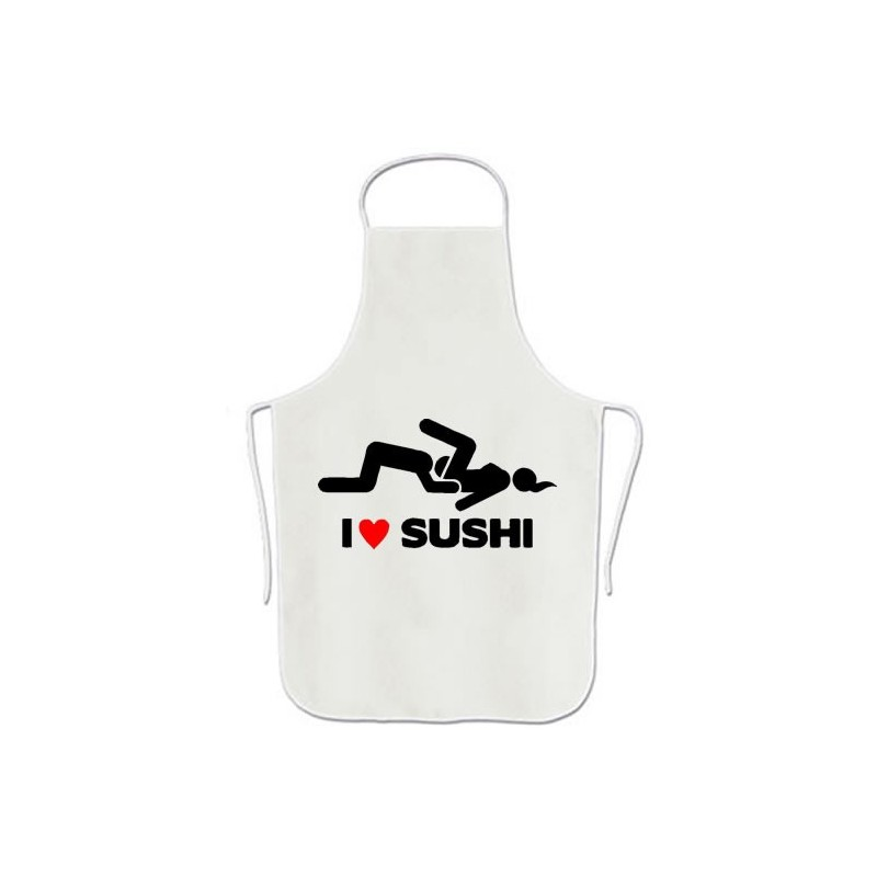 I Love Sushi - Delantales Originales Sexo