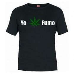 Yo Marihuana Fumo - Camisetas Drogas