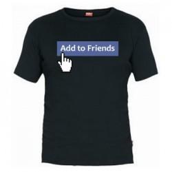 Camiseta Facebook Añadir como Amigo