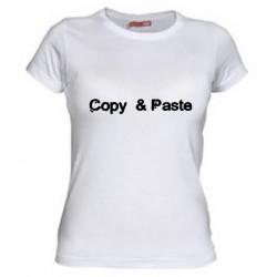 Camiseta Copy & Paste