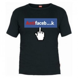 Camiseta AntiFacebook