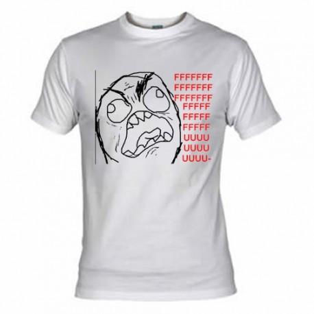 Camiseta Meme - ffffuuuu