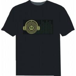 Camiseta Led Auriculares