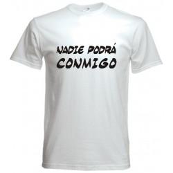 Camiseta Nadie podrá conmigo