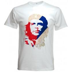 Camiseta Che Guevara Bandera de cuba