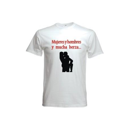 Camiseta Mujeres y Hombres y mucha berza
