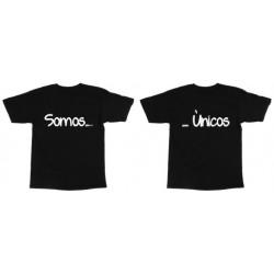 Camisetas Dupla somos unicos