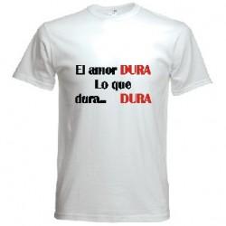Camiseta El Amor dura