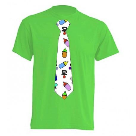 Camiseta Con Corbata de Chupetes