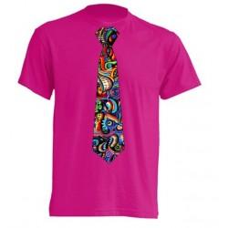 Camiseta Con Corbata Graffity