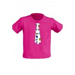 Camiseta para niños Con Corbata Chupetes