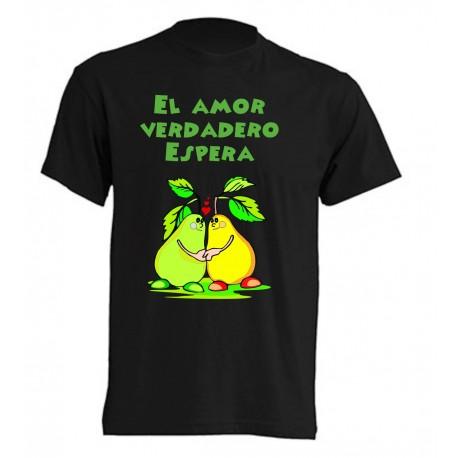 Camiseta El amor verdadero espera
