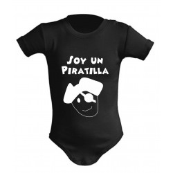 Body Bebé Soy un Piratilla