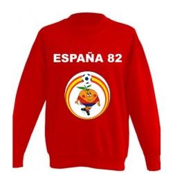 Sudadera Naranjito España 82