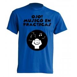 Camiseta Ojo, Músico en Prácticas..
