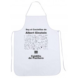 Delantal Cocinillas de Albert Einstein