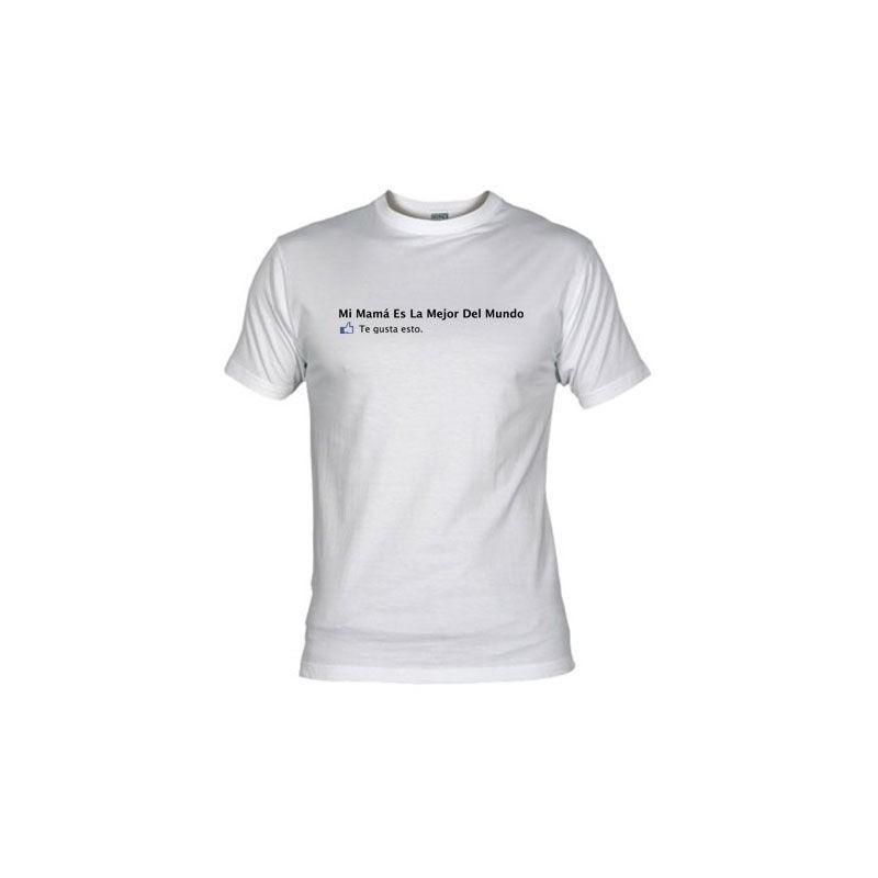 Camiseta-Mi Mama es la Mejor Facebook