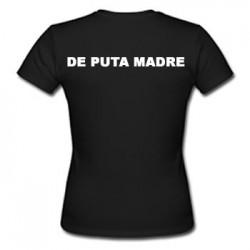 Camiseta De Puta Madre