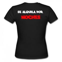 Camiseta Se Alquila Por Noches