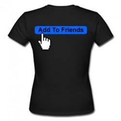 Camiseta Add To Friends