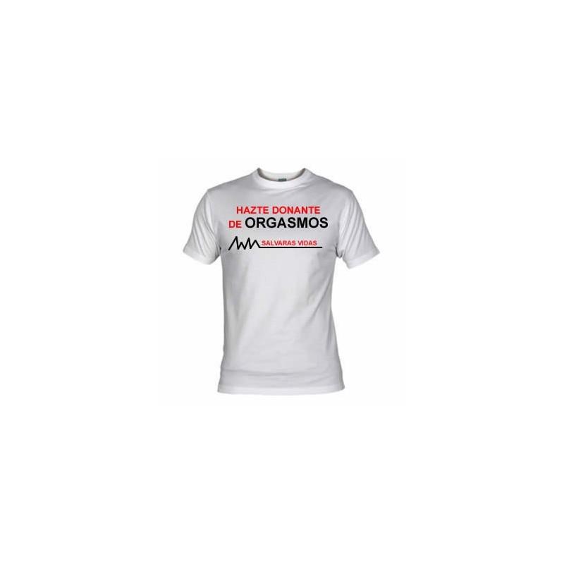 Camiseta Donante de Orgasmos