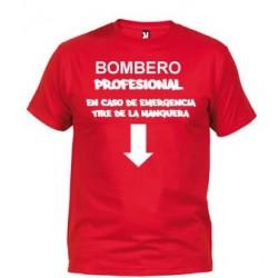 Camiseta Bombero Profesional