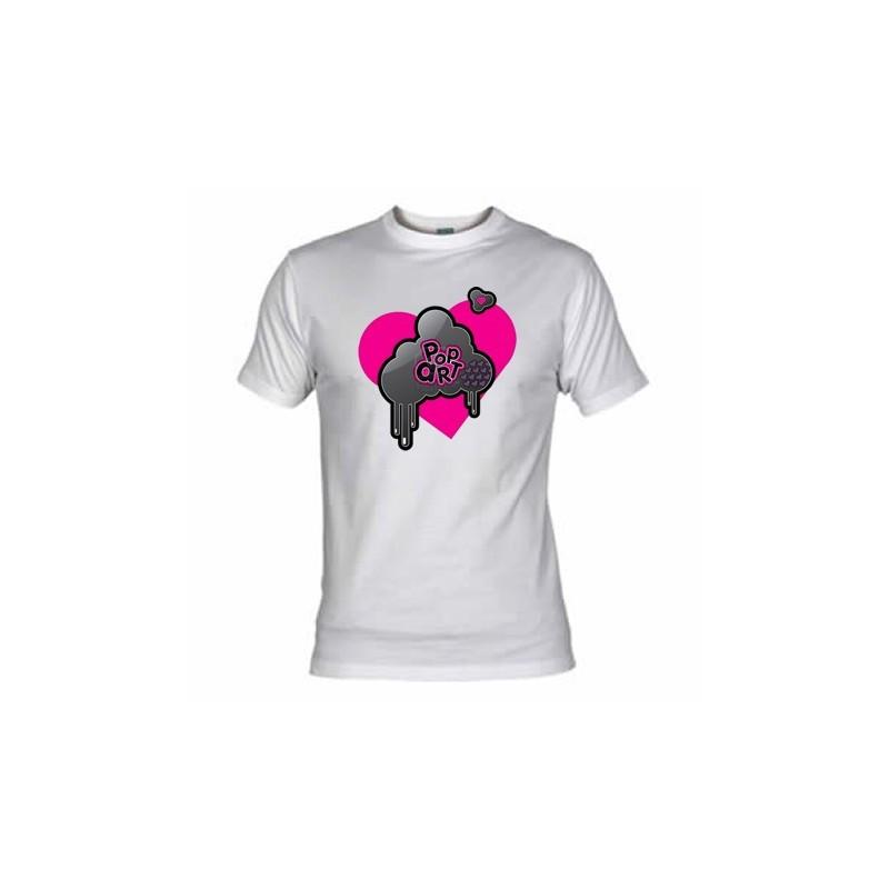 Camiseta Pop Art