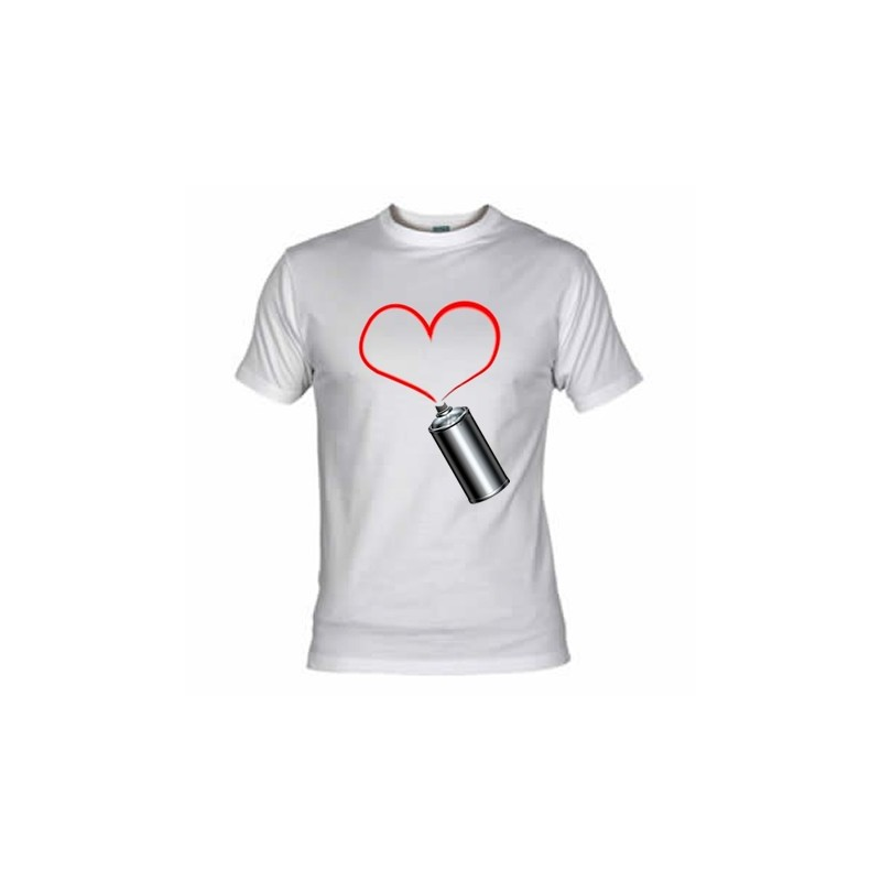 Camiseta Graffiti Corazon