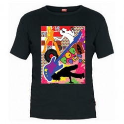 Camiseta Pop Art Music
