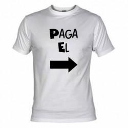 Camiseta Paga El