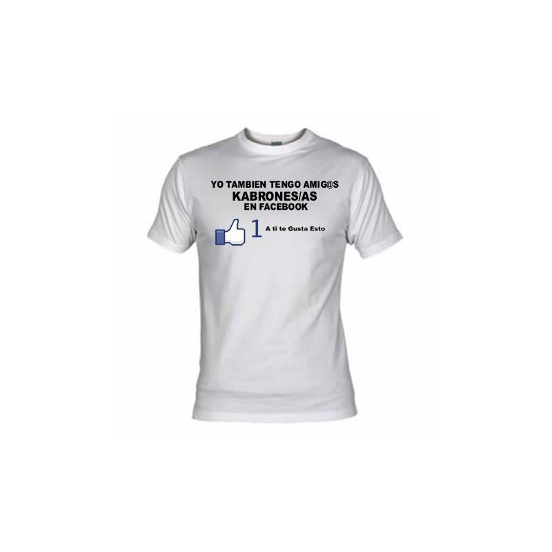 Camiseta Grupo de Facebook, Amigos Cabrones